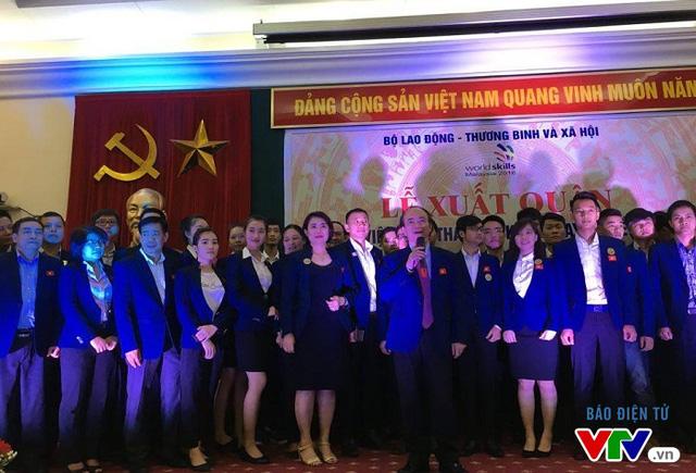 Đoàn Việt Nam xuất quân tham dự Kỳ thi tay nghề ASEAN 2016 - Ảnh 1.