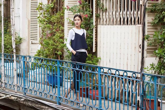 Ngắm phong cách thời trang ngọt ngào của Chà Mi - Ảnh 7.