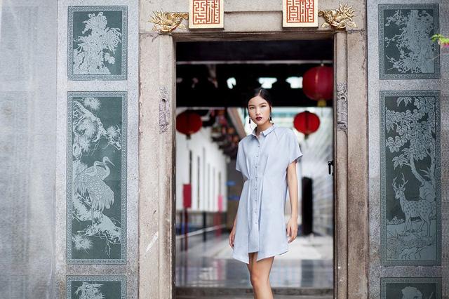 Ngắm phong cách thời trang ngọt ngào của Chà Mi - Ảnh 5.