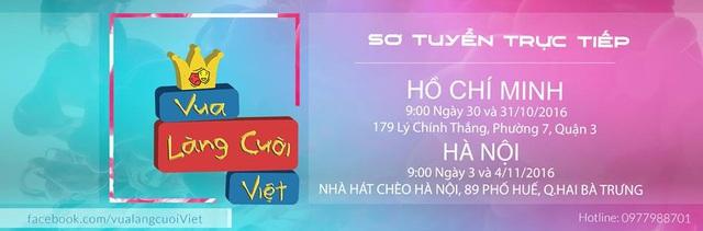 Gameshow Vua làng cười Việt chính thức tuyển sinh tại Hà Nội - Ảnh 2.
