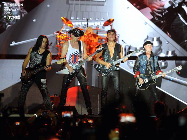 Scorpions đốt cháy Monsoon Music Festival 2016 - Ảnh 6.