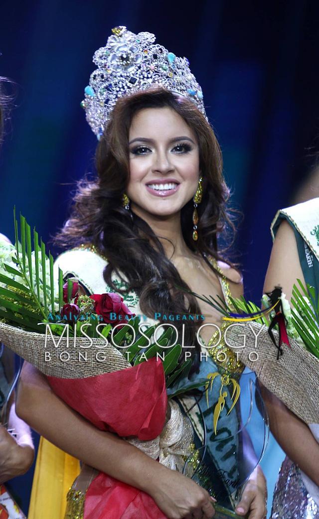 Người đẹp Ecuador đăng quang Hoa hậu Trái đất, Nam Em dừng ở top 8 - Ảnh 1.