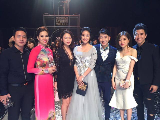 MC Phí Linh cá tính, đầy biến hóa tại Vietnam International Fashion Week - Ảnh 11.