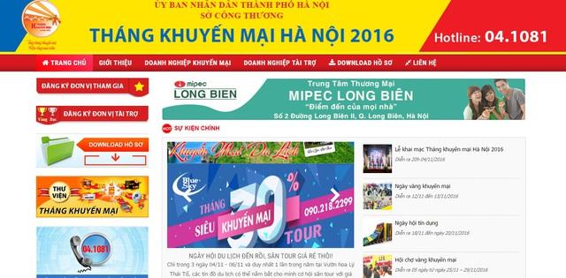 Tháng khuyến mãi Hà Nội 2016 có gì hấp dẫn? - Ảnh 1.