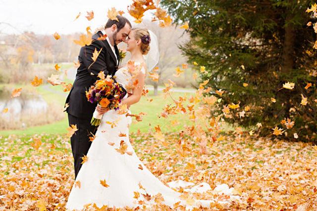 Những bức ảnh cưới tuyệt đẹp mang màu sắc của mùa thu - Ảnh 12.