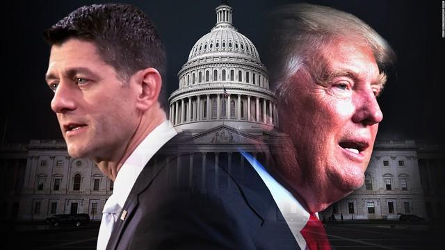 Sếp lớn của đảng Cộng hòa quay lưng với Donald Trump - Ảnh 1.