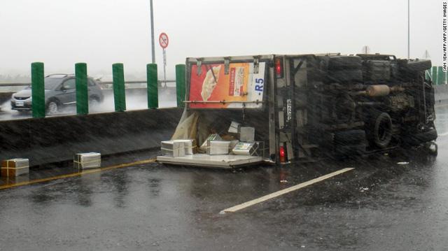 Siêu bão Meranti đổ bộ Đài Loan (Trung Quốc): Sức gió khủng khiếp hơn siêu xe công thức 1 - Ảnh 4.