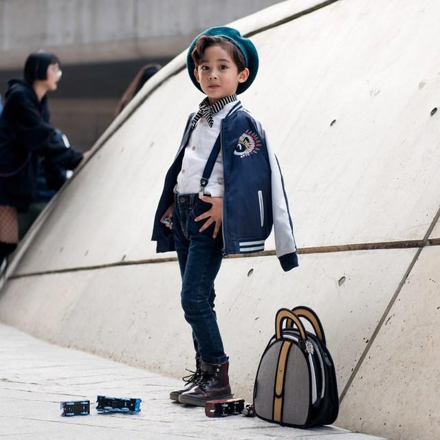 Tuần lễ thời trang Hàn Quốc: Trẻ con chất lừ không thua gì người lớn! - Ảnh 8.