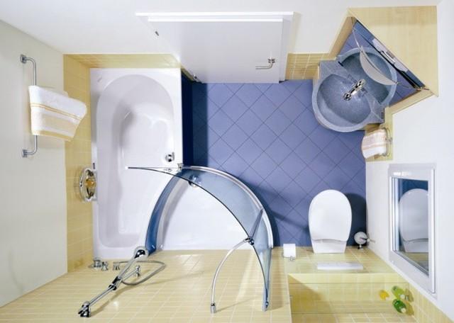 11 ý tưởng thiết kế thông minh cho phòng tắm nhỏ - Ảnh 7.