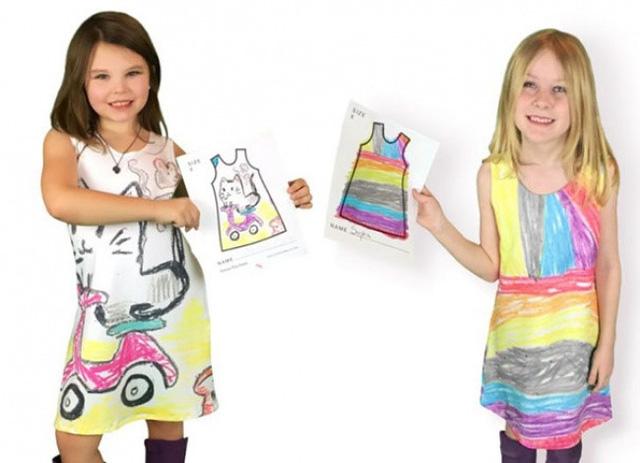 Nhà thiết kế may váy theo bản vẽ của các con mình - Ảnh 7.