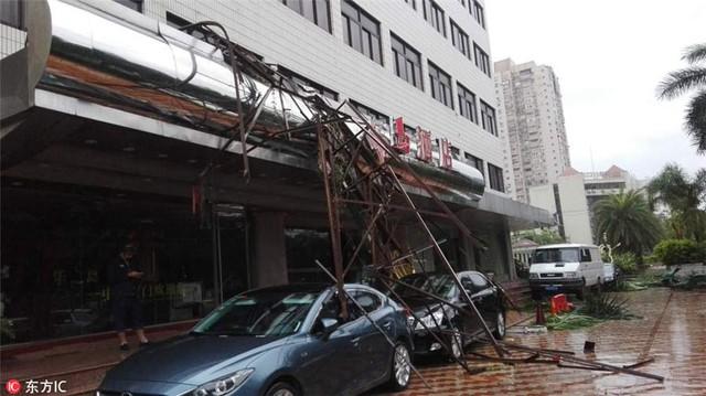 Ít nhất 7 người thiệt mạng do siêu bão Meranti tại tỉnh Phúc Kiến (Trung Quốc) - Ảnh 1.