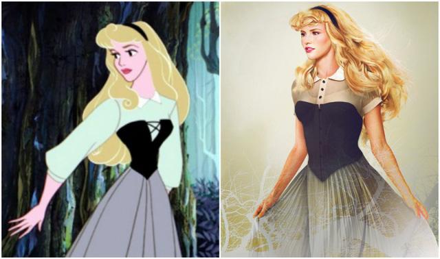 Khi nhan sắc của các công chúa Disney được đưa ra ngoài đời thực - Ảnh 13.