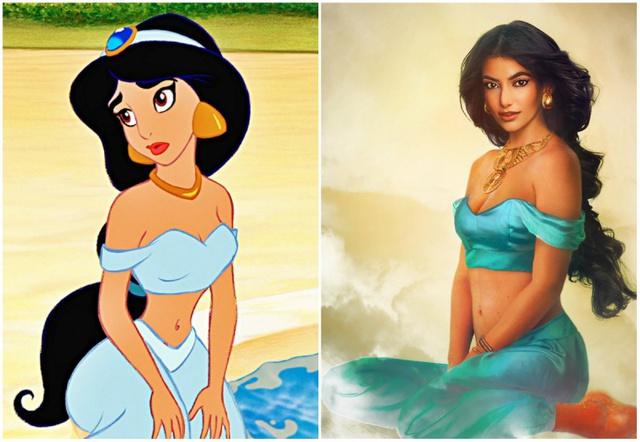 Khi nhan sắc của các công chúa Disney được đưa ra ngoài đời thực - Ảnh 5.