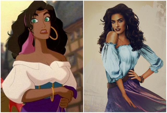 Khi nhan sắc của các công chúa Disney được đưa ra ngoài đời thực - Ảnh 10.
