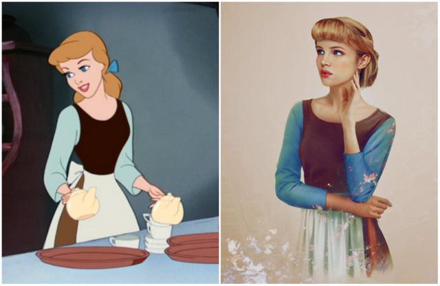 Khi nhan sắc của các công chúa Disney được đưa ra ngoài đời thực - Ảnh 7.