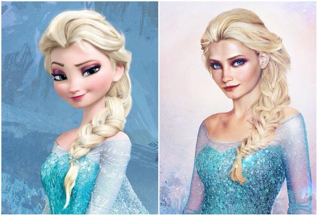 Khi nhan sắc của các công chúa Disney được đưa ra ngoài đời thực - Ảnh 1.