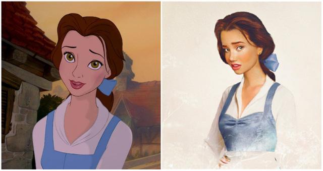 Khi nhan sắc của các công chúa Disney được đưa ra ngoài đời thực - Ảnh 11.