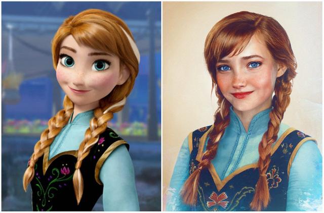 Khi nhan sắc của các công chúa Disney được đưa ra ngoài đời thực - Ảnh 2.