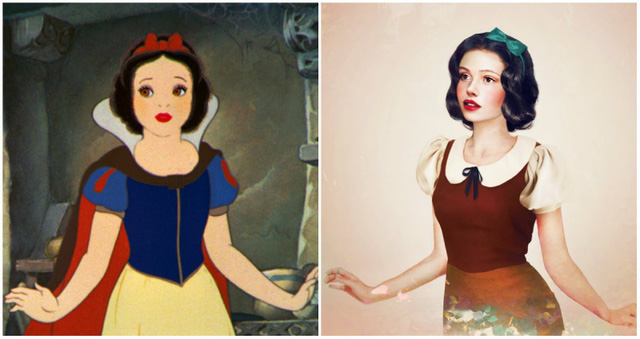 Khi nhan sắc của các công chúa Disney được đưa ra ngoài đời thực - Ảnh 6.