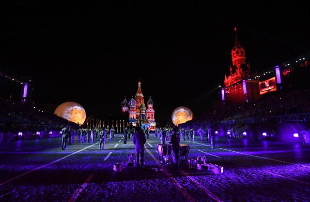 Nga: Đặc sắc Liên hoan Quân nhạc quốc tế tại Moscow - Ảnh 2.