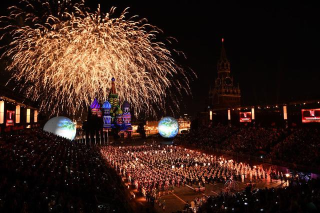Nga: Đặc sắc Liên hoan Quân nhạc quốc tế tại Moscow - Ảnh 1.
