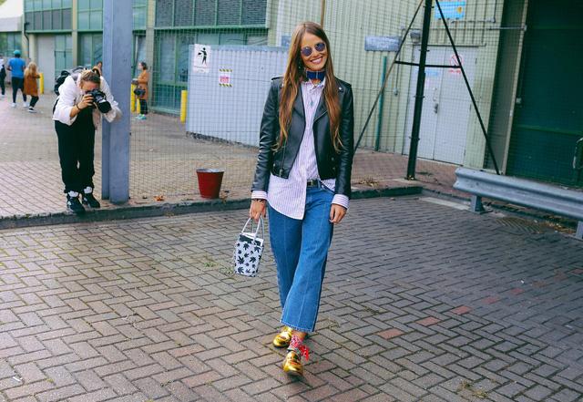 Tăm tia thời trang đường phố London cực chất và cá tính - Ảnh 22.