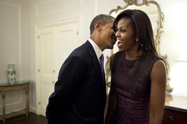 Chuyện tình ngọt ngào của Tổng thống Obama qua ảnh - Ảnh 18.
