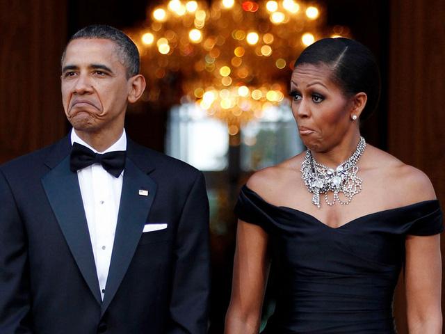 Chuyện tình ngọt ngào của Tổng thống Obama qua ảnh - Ảnh 19.