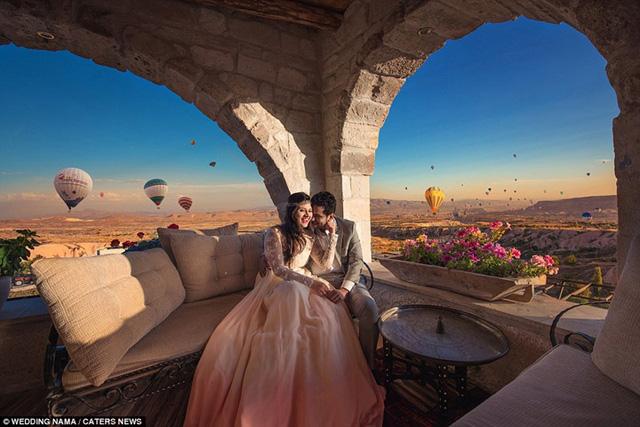 Ngất ngây với những địa điểm chụp ảnh cưới đẹp nhất thế giới - Ảnh 3.