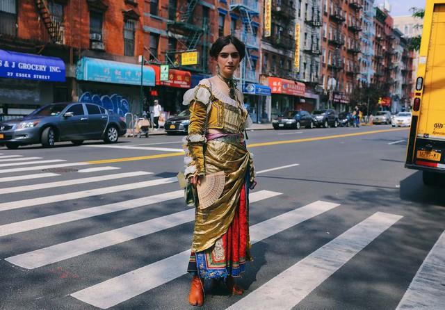Những nét chấm phá điệu đà ở Tuần lễ thời trang New York - Ảnh 17.