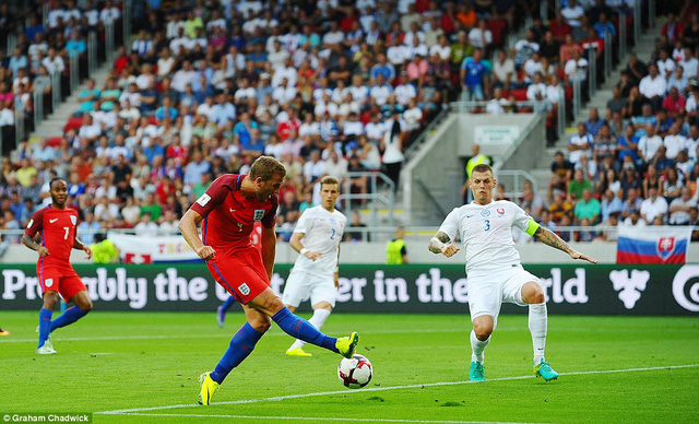 Slovakia 0-1 Anh: Lallana cứu rỗi Big Sam ở giây cuối cùng - Ảnh 2.