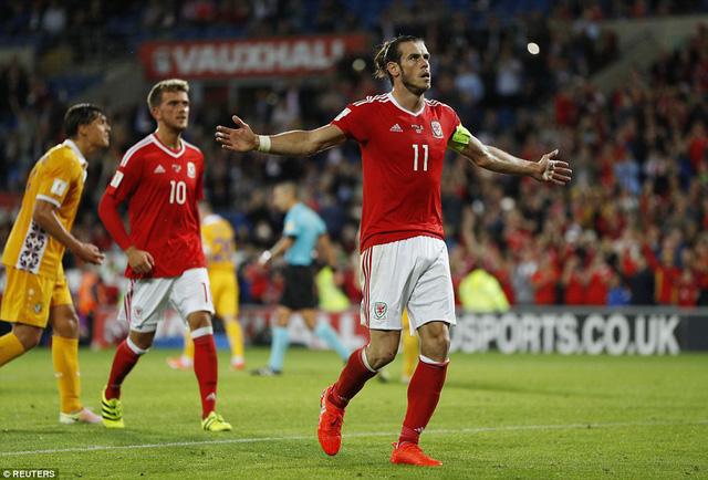 Xứ Wales 4-0 Moldova: Bale lập cú đúp, Wales thắng ấn tượng - Ảnh 1.