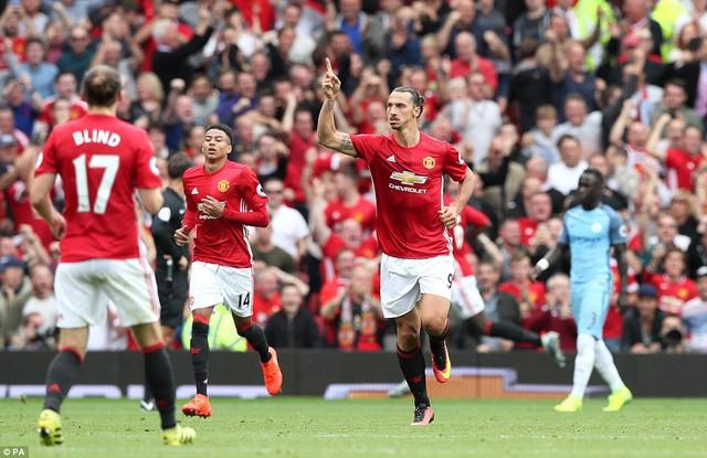 Ảnh: Những khoảnh khắc đáng nhớ trong trận derby Manchester - Ảnh 10.