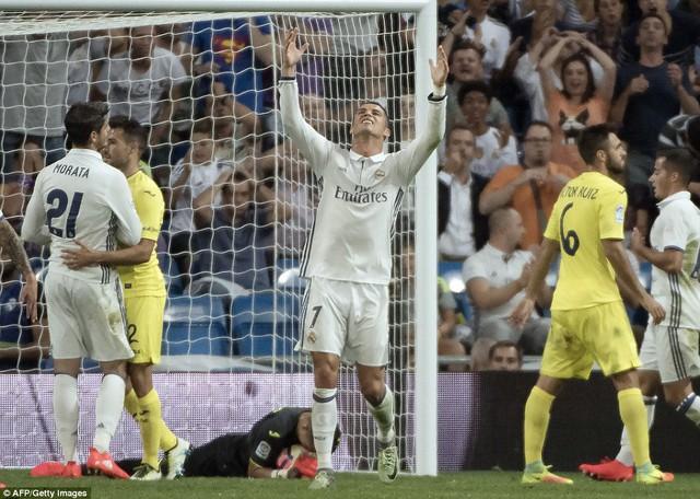 VIDEO, Real Madrid 1-1 Villarreal: Ramos lập công chuộc tội! - Ảnh 1.