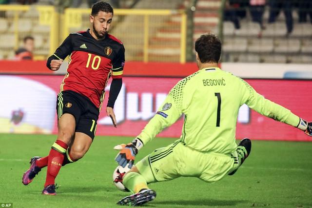 VIDEO, Bỉ 4-0 Bosnia-Herzegovina: Các ngôi sao Ngoại hạng tỏa sáng! - Ảnh 1.