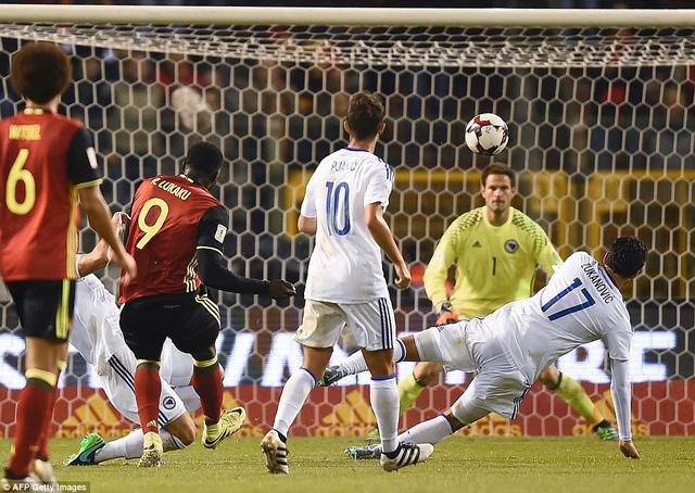 VIDEO, Bỉ 4-0 Bosnia-Herzegovina: Các ngôi sao Ngoại hạng tỏa sáng! - Ảnh 2.