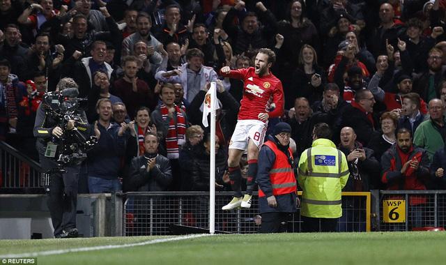 VIDEO, Man Utd 1-0 Man City: Khoảnh khắc ngôi sao - Ảnh 1.