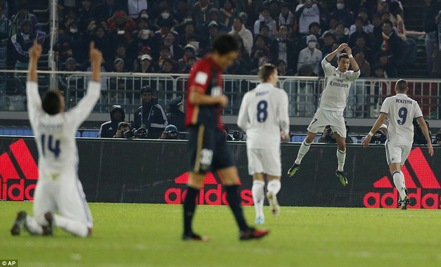 Real Madrid: Nhà vô địch may mắn của FIFA Club World Cup 2016 - Ảnh 1.