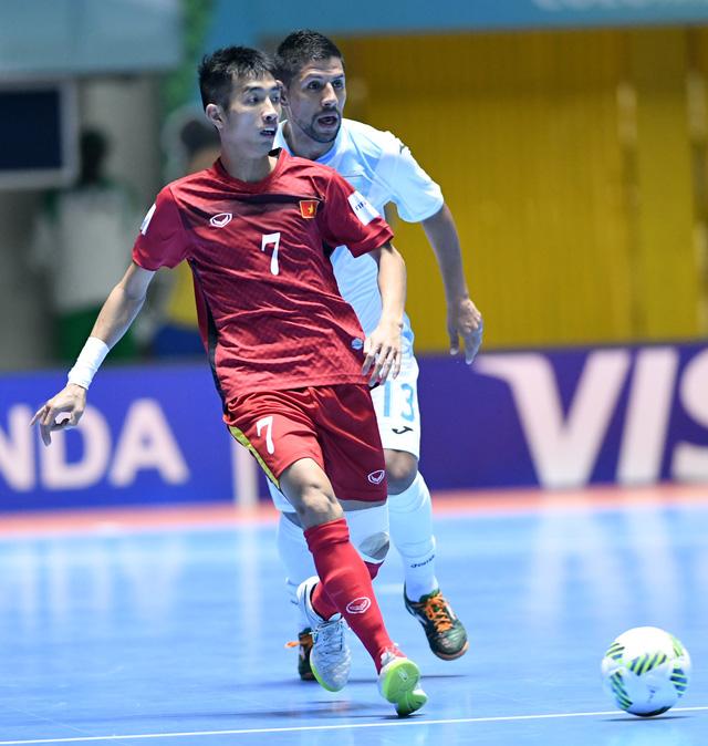 Ảnh: Những khoảnh khắc ấn tượng trong chiến thắng 4-2 của ĐT futsal Việt Nam trước Guatemala - Ảnh 3.