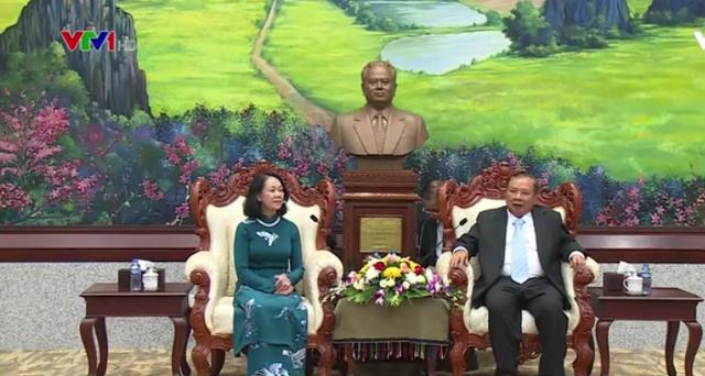 Việt Nam - Lào trao đổi kinh nghiệm hội nhập quốc tế - Ảnh 1.