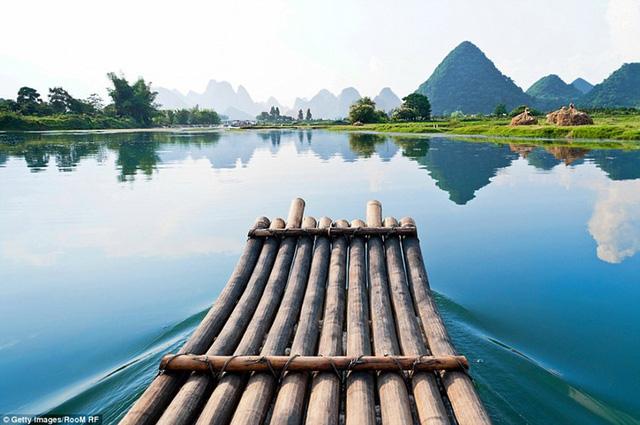 Ngất ngây với những khung cảnh đẹp như tranh vẽ ở Trung Quốc - Ảnh 10.