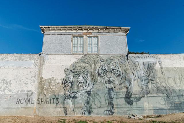 """Ngôi nhà bỏ hoang """"hồi sinh"""" dưới bàn tay của các nghệ sĩ đường phố - Ảnh 5."""
