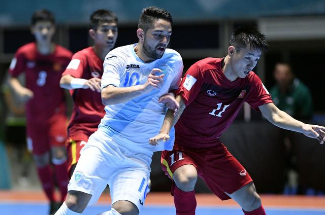 Ảnh: Những khoảnh khắc ấn tượng trong chiến thắng 4-2 của ĐT futsal Việt Nam trước Guatemala - Ảnh 4.