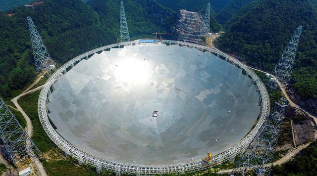 Trung Quốc thử nghiệm kính viễn vọng lớn nhất thế giới - Ảnh 2.