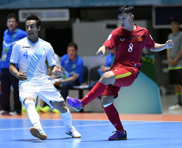 Ảnh: Những khoảnh khắc ấn tượng trong chiến thắng 4-2 của ĐT futsal Việt Nam trước Guatemala - Ảnh 5.