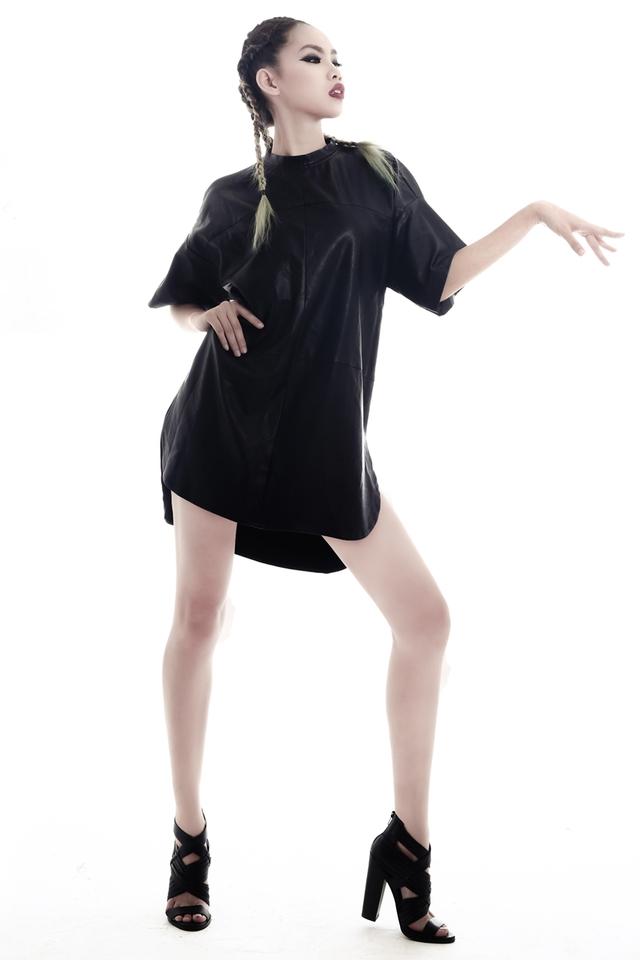 Ngắm loạt ảnh phá cách bất ngờ của Nguyễn Phương Next Top Model - Ảnh 3.