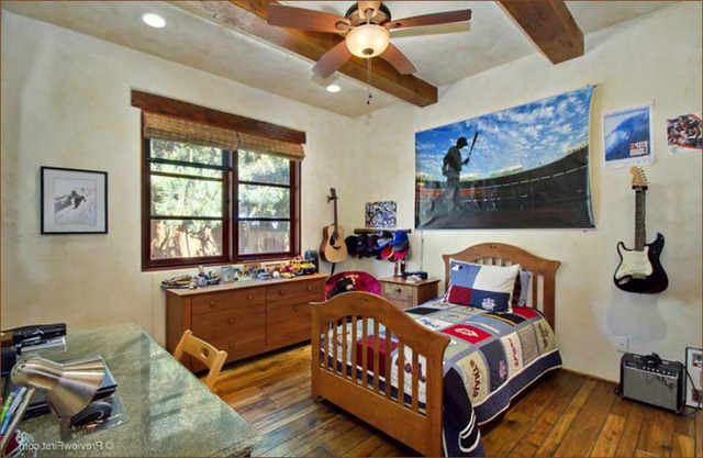 Phòng ngủ theo chủ đề bãi biển hút mắt trẻ thơ - Ảnh 1.