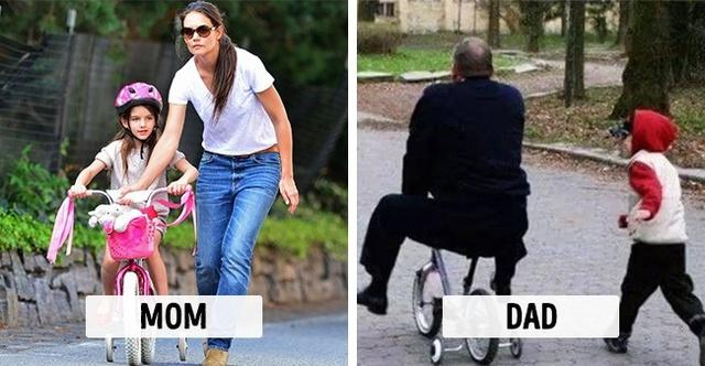 Sự khác biệt một trời, một vực khi bố và mẹ chăm con - Ảnh 6.