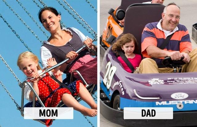 Sự khác biệt một trời, một vực khi bố và mẹ chăm con - Ảnh 5.