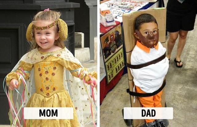 Sự khác biệt một trời, một vực khi bố và mẹ chăm con - Ảnh 2.